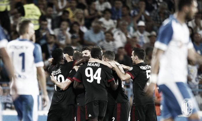 Milan vence Craiova e leva vantagem para jogo de volta da pré-Europa League