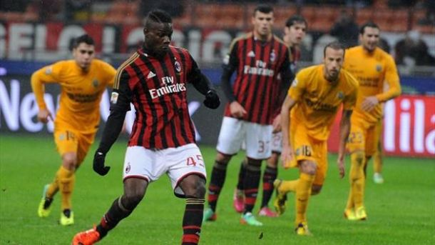 Seedorf, buona la prima: Balotelli su rigore piega il Verona