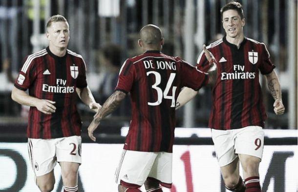 A De Jong risponde Ilicic: Milan-Fiorentina finisce 1-1