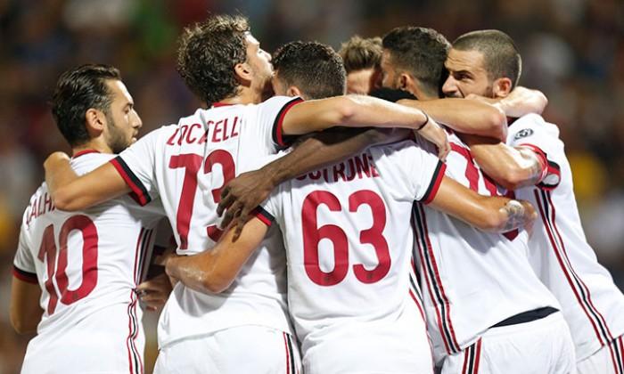 Crotone-Milan, tris rossonero in 24 minuti ed esordio ok per Montella