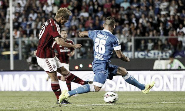 Diretta partita Milan - Empoli, risultati live Serie A