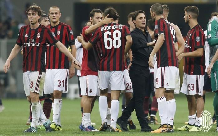 Milan-Cagliari, in attesa di gioco e qualità, Montella si affida ad una vecchia virtù