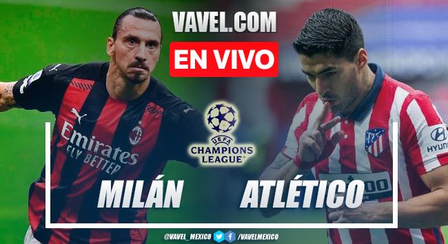 Resumen AC Milan vs Atlético de Madrid en Champions League 2021 (1-2)