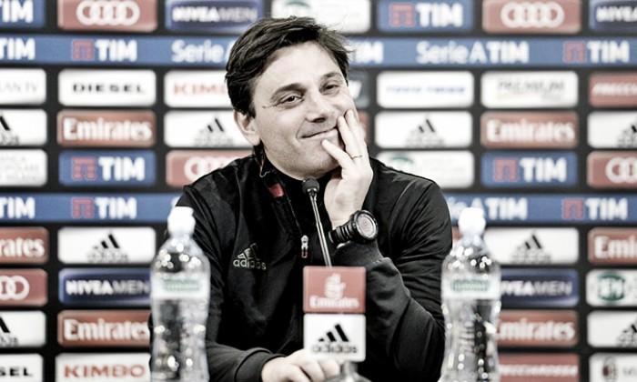 """Milan, Montella pensa al campo: """"Closing non deve essere un alibi. Col Chievo ci sarà da soffrire"""""""