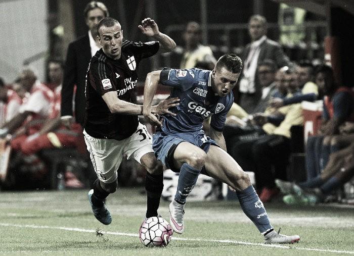 Sem Bacca, mas com reforços: Milan visita Empoli para se manter no G-3 da Serie A
