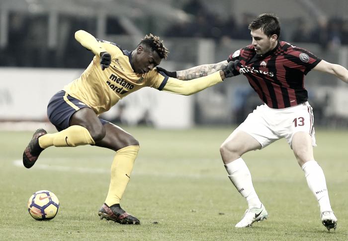 Previa Hellas Verona - AC Milan: la vida y la crítica