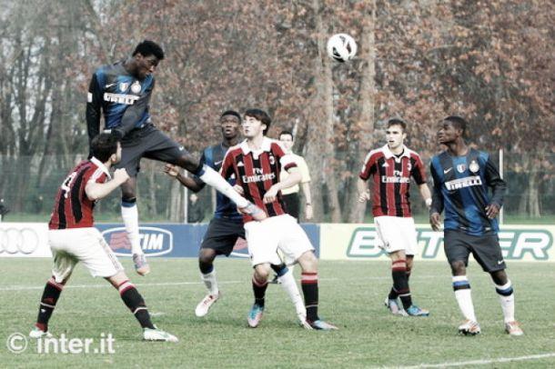 Live Milan - Inter in campionato Primavera