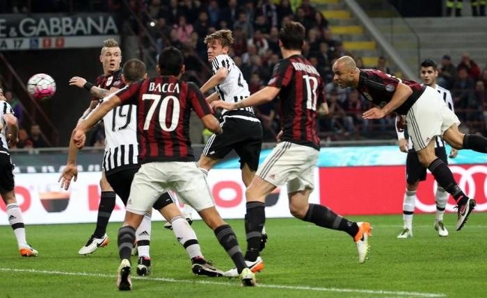 Milan - Juventus in Serie A 2016/17 (1-0) Superba rete di Locatelli!