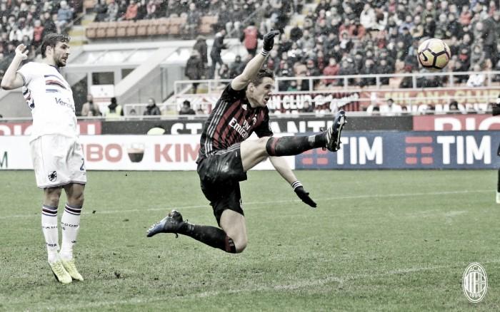 Un frío Milan no puede superar a una Sampdoria de dulce