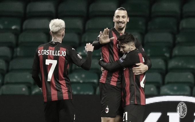 Milan vence na estreia da Europa League (Foto: Divulgação/ AC Milan)
