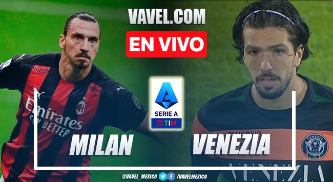 Goles y resumen del AC Milán 2-0 Venezia en Serie A 2021