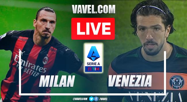 Goals and Highlights: AC Miln 2-0 Venezia in Serie A 2021