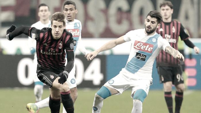 Resumen Napoli 2-1 Milan: Insigne fue demasiado para un Milan sin ideas