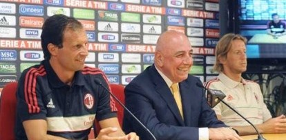 "Galliani: ""Vincere e diminuire gli infortuni"""