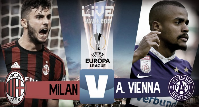 Terminata Milan - Austria Vienna, LIVE Europa League 2017/2018 (5-1): Cutrone mette il punto esclamativo sulla partita!
