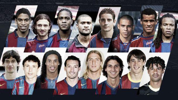 Milan - Barcelona: futbolistas que compartieron colores