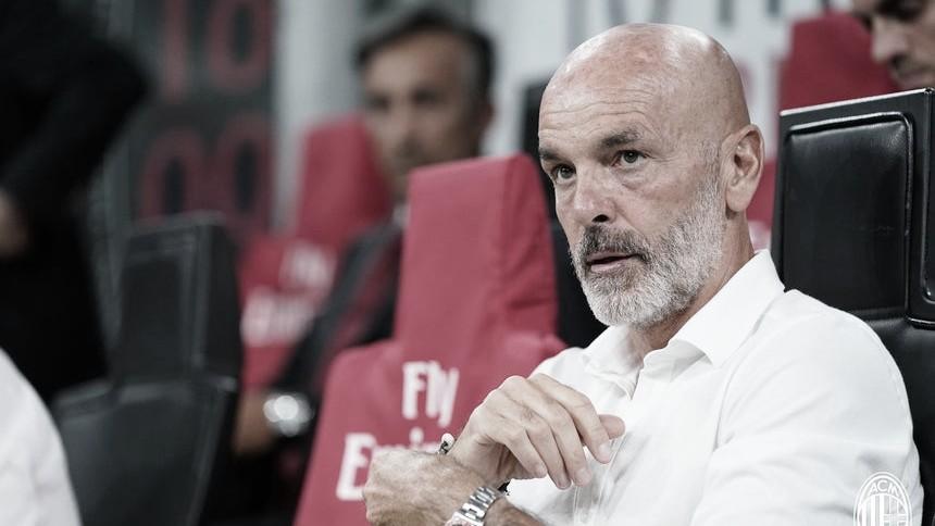 """Com mais três pontos, Stefano Pioli comemora boa fase do Milan: """"Colhemos os frutos"""""""