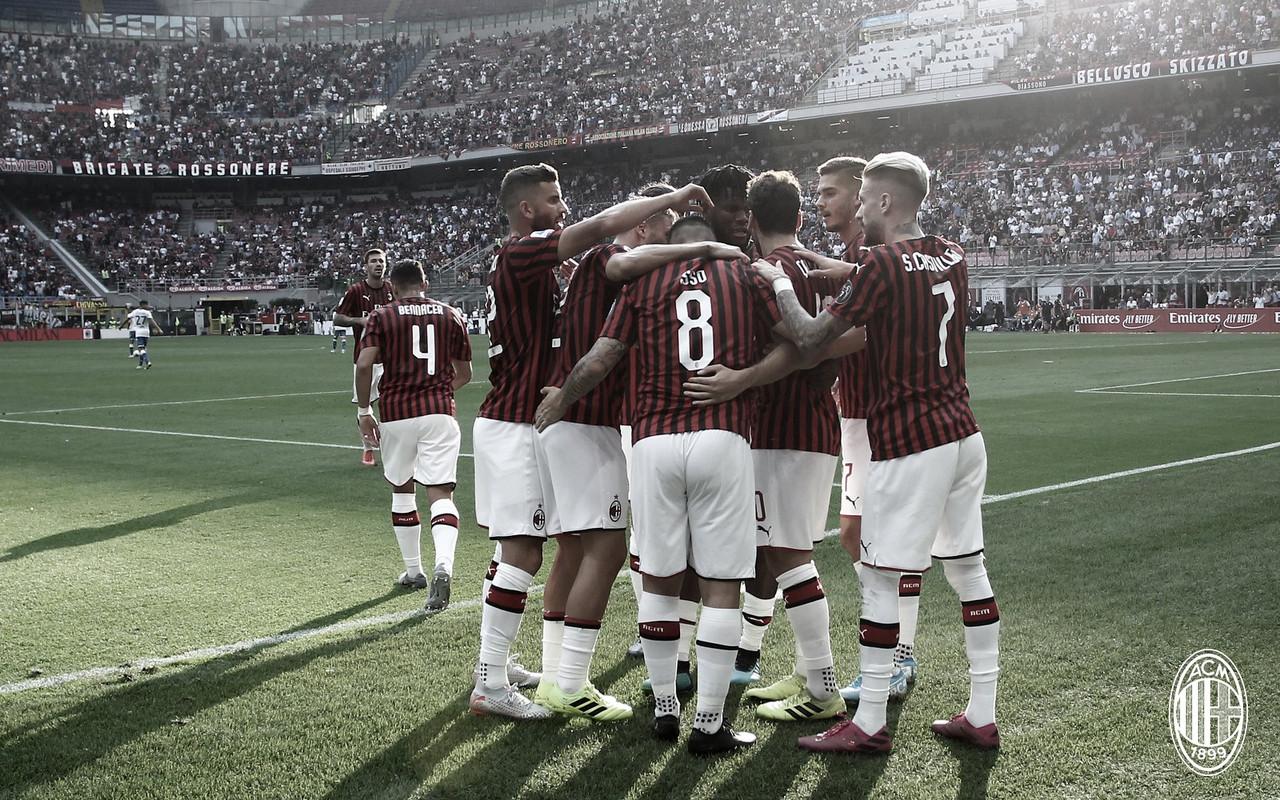 Milan resolve no primeiro tempo, e bate Brescia pelo Campeonato Italiano