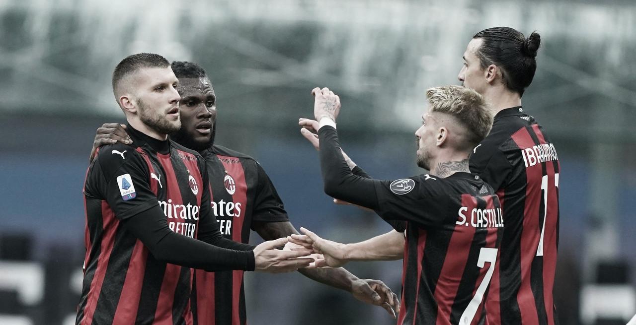 Com grande segundo tempo, Milan vence Crotone e retoma a liderança da Serie A