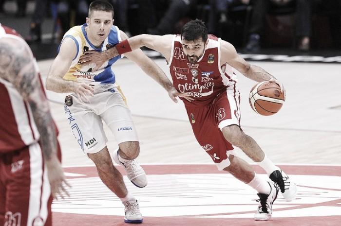 Legabasket Serie A - Capo d'Orlando clamorosa, Milano cade in casa in gara1
