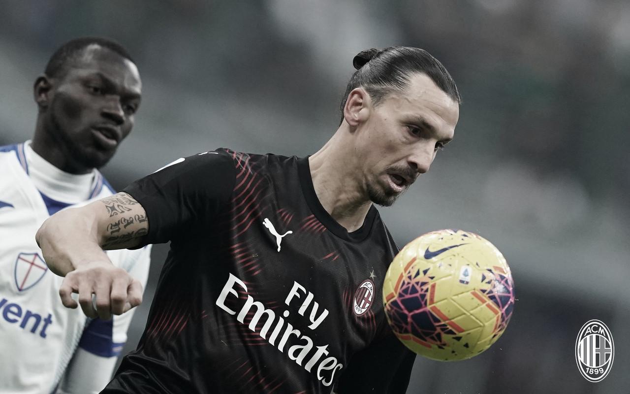"""Ibrahimovic observa ambiente desmotivado no Milan e ressalta: """"Falta de esperança"""""""
