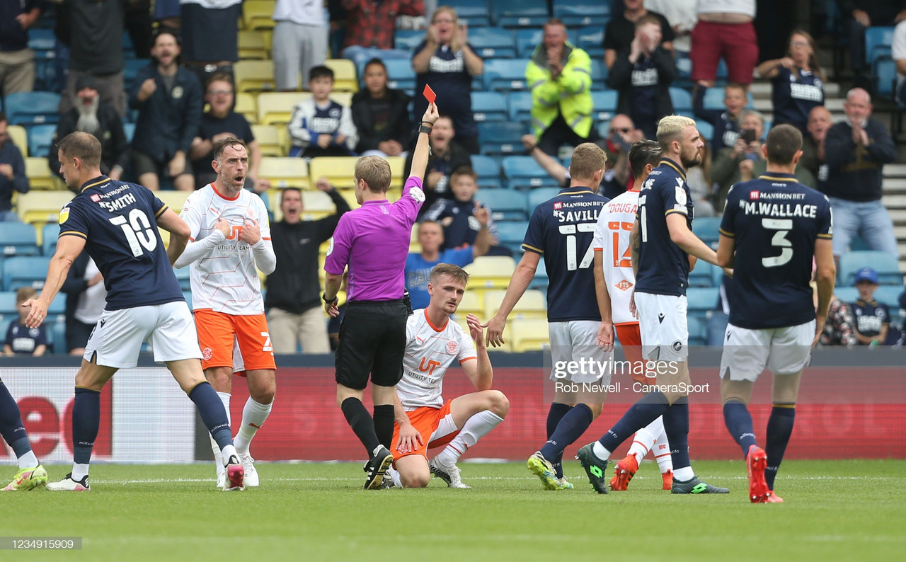 Millwall 2-1 Blackpool: Cooper wins it late for the Lions