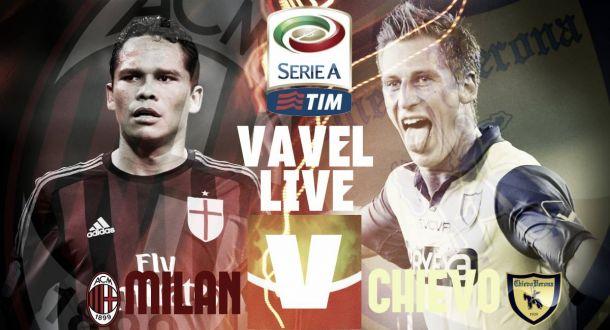 Risultato finale Milan - Chievo Verona (1-0): gol di Antonelli, 2° vittoria consecutiva per i rossoneri