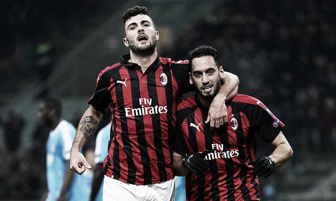 Milan flerta com vexame, mas vira e goleia Dudelange pela Europa League