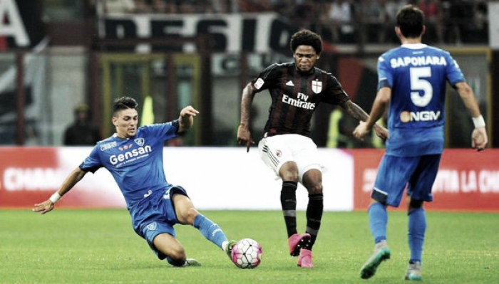 Verso Empoli - Milan: i rossoneri per dare continuità