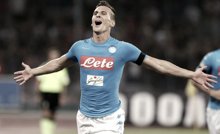 """Napoli, senti Milik: """"Abbiamo grandi qualità per giocare ad alti livelli in Champions"""""""