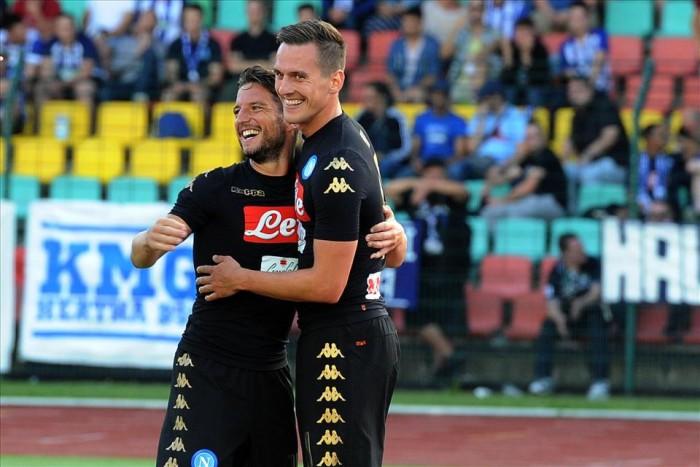 """Napoli, Milik: """"Mi hanno parlato del San Paolo nelle notti di Champions. Non vedo l'ora"""""""