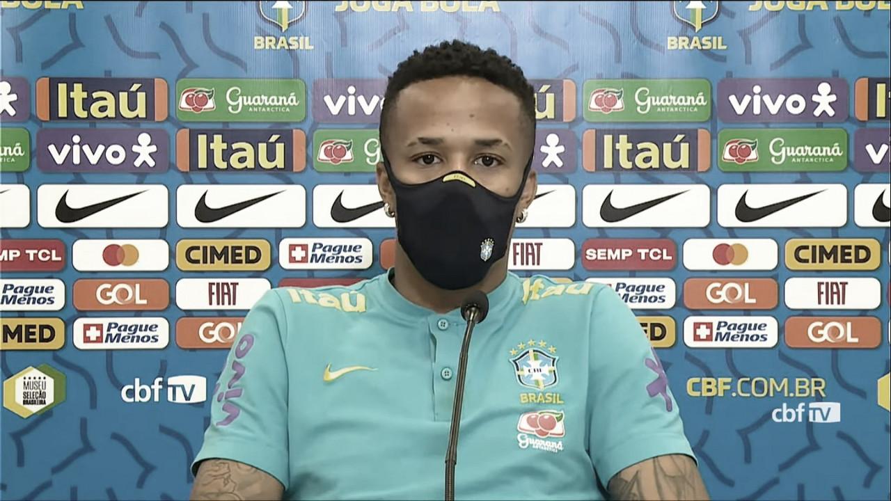 "Éder Militão: ""Quiero poder levantar la Copa América"""