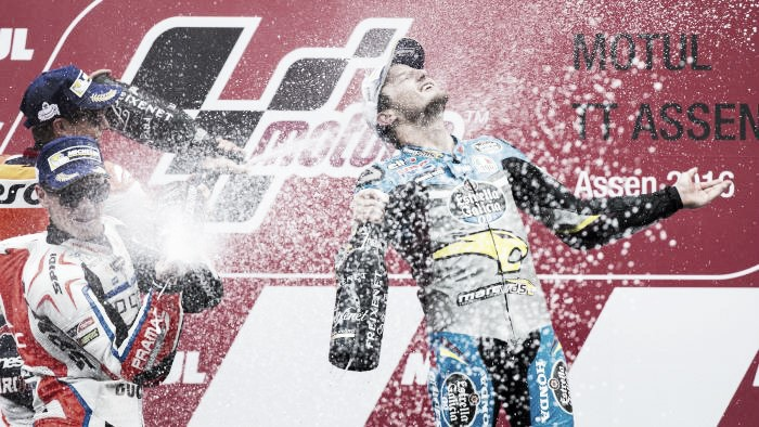 Consistency paid off for the podium finishers at the Assen GP