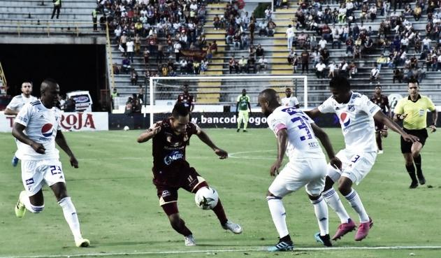 Análisis táctico Tolima vs Millonarios