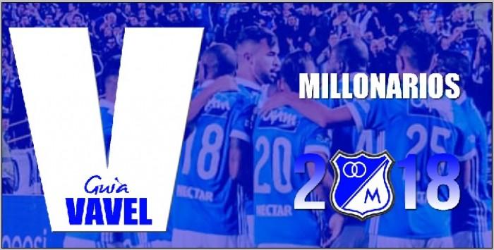 Guía VAVEL Liga Águila 2018-I: Millonarios