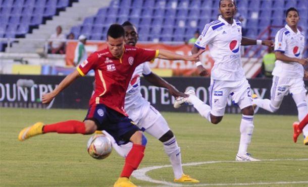 Resultado Millonarios - Uniautónoma por la Liga Águila 2015 (2-0)
