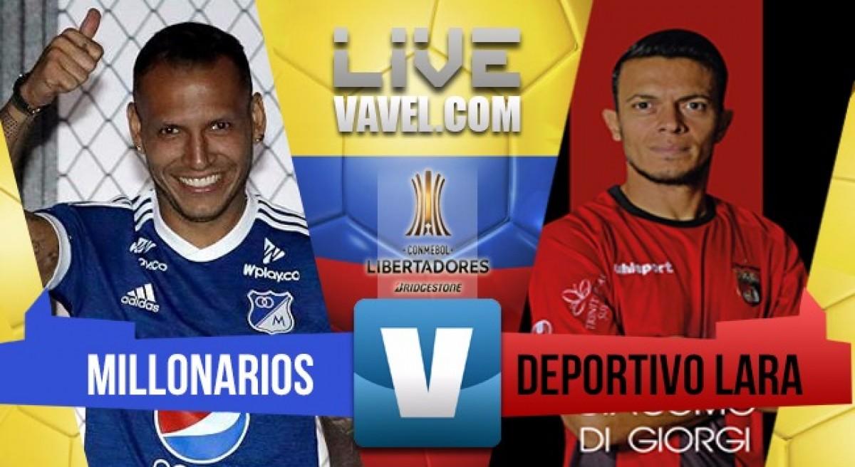 Millonarios golea a Deportivo Lara y ya suma cuatro puntos en la Copa Libertadores
