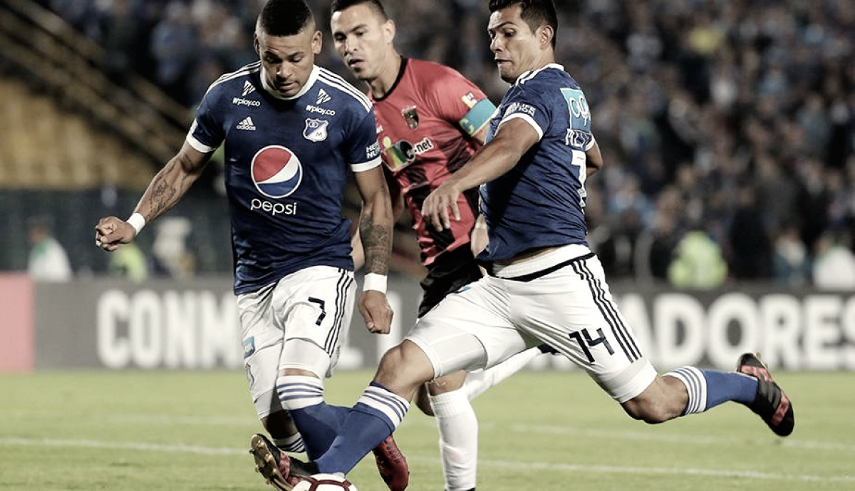 Millonarios goleó al Deportivo Lara en Copa Libertadores