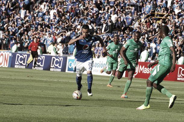 Resultado Equidad - Millonarios por la Copa Águila 2015 (0-0)