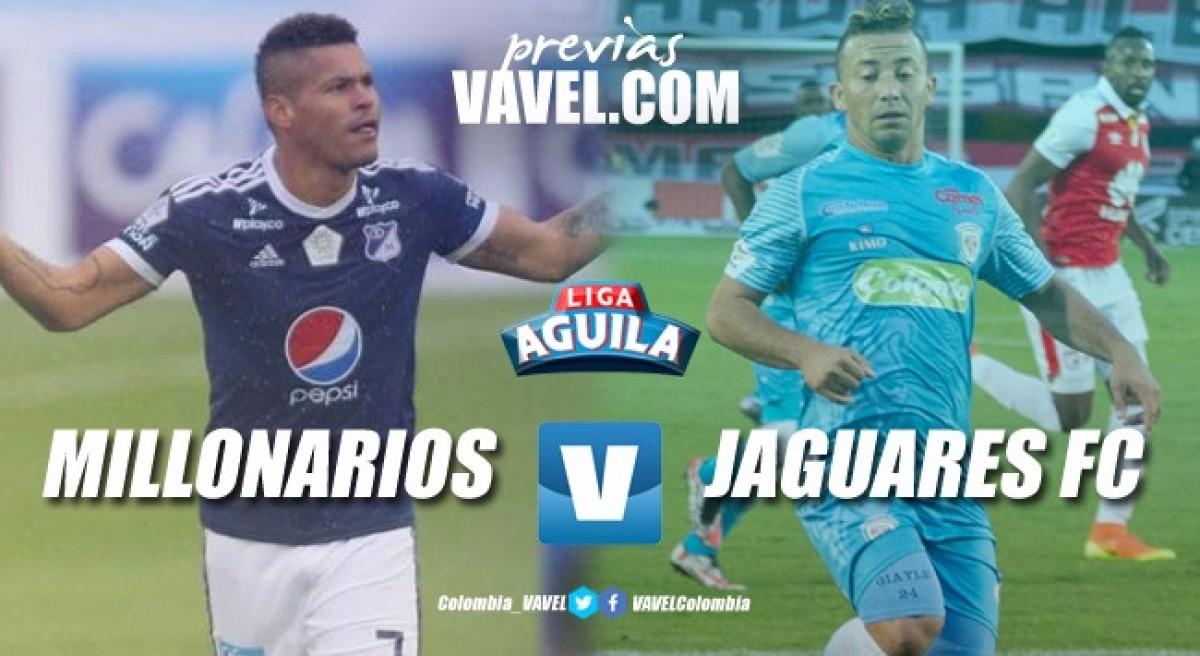 Previa Millonarios vs Jaguares: duelo para revivir en la tabla