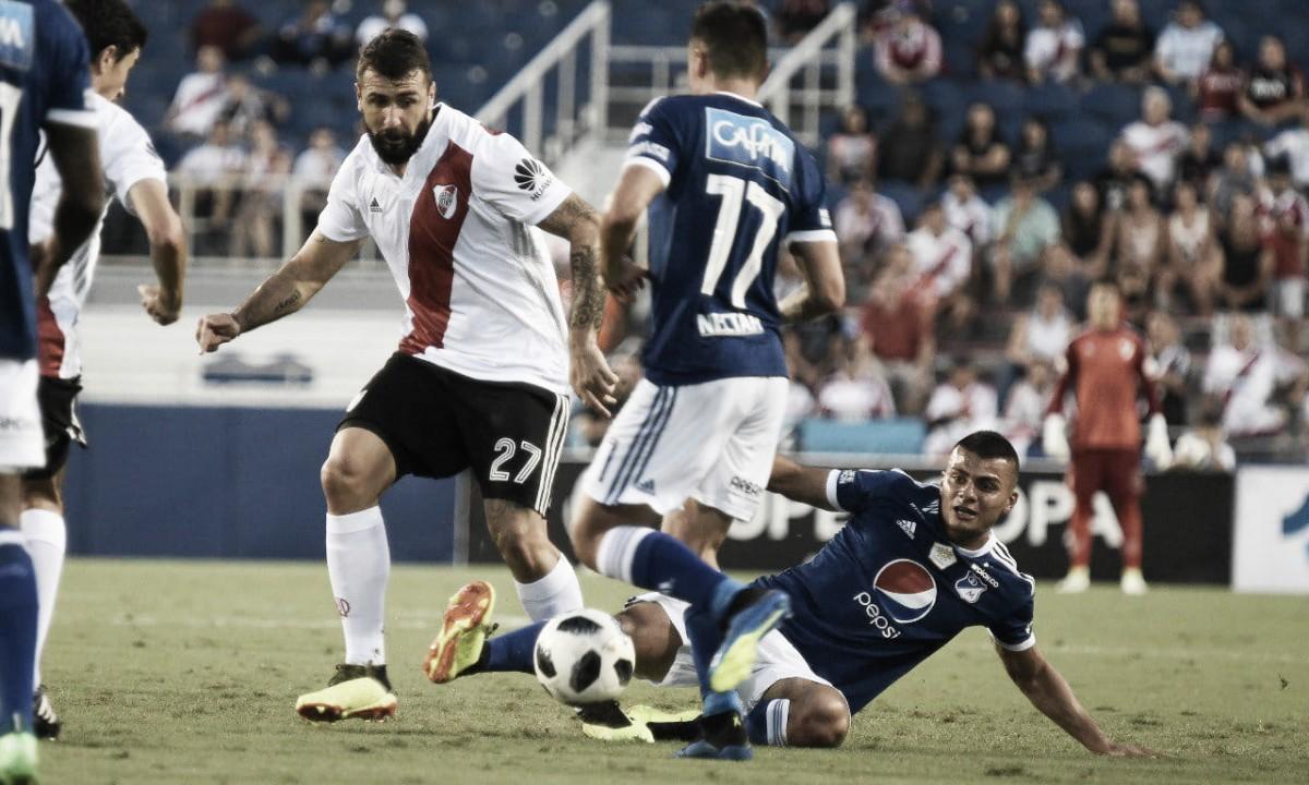 Millonarios perdió en amistoso ante River Plate