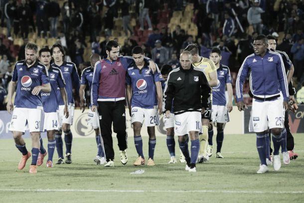 Millonarios complicó sus chances en la Liga Águila 2015-II