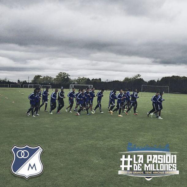 Millonarios cumplió su quinta jornada de prácticas
