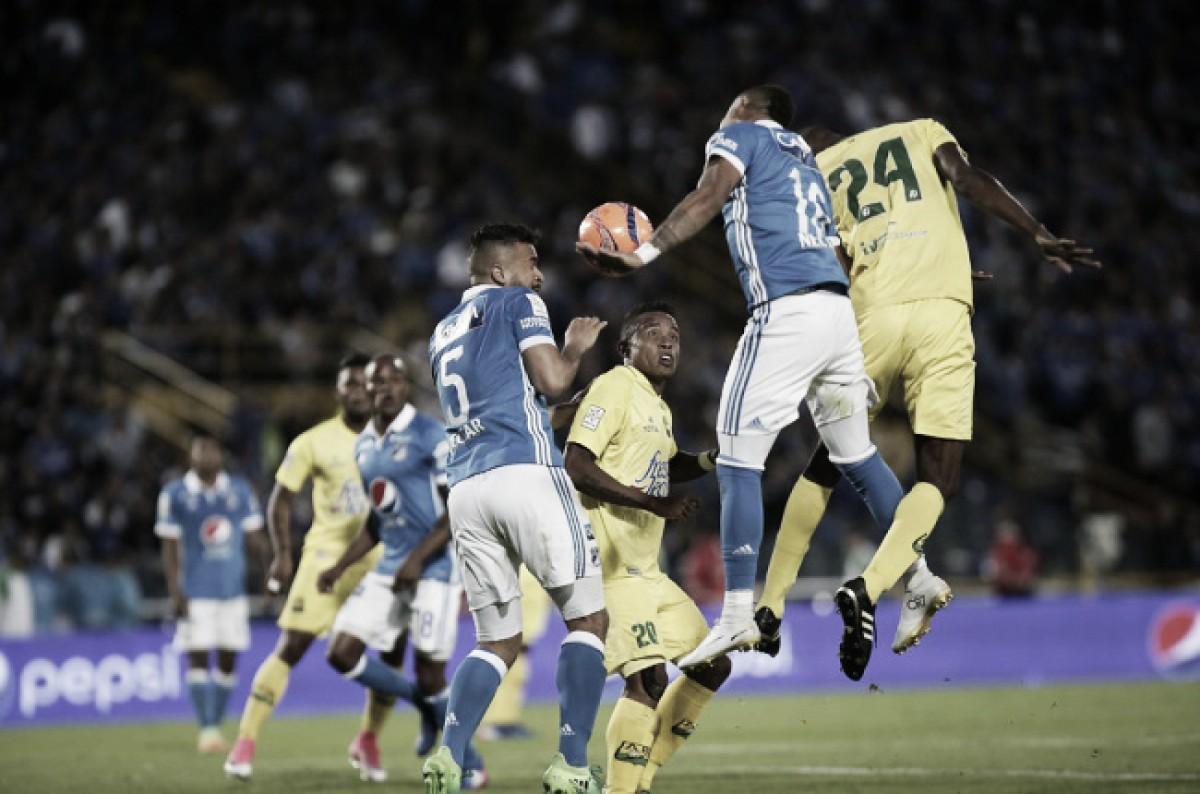 Convocados 'azules' para recibir al Atlético Bucaramanga