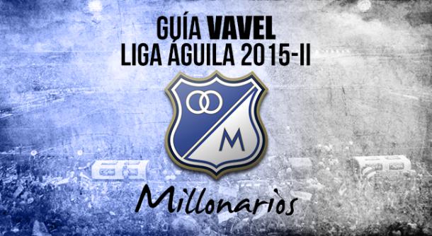 Guía VAVEL Liga Águila 2015-II: Millonarios
