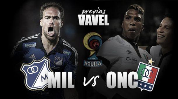 Millonarios - Once Caldas: debut azul en El Campín