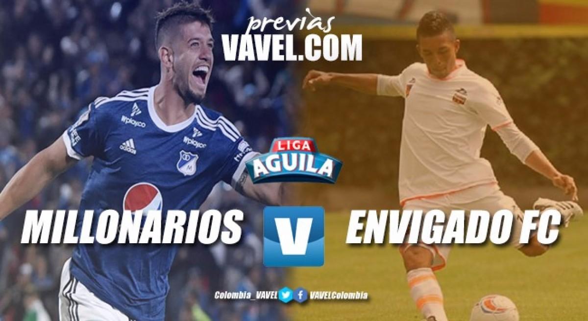Previa Millonarios vs Envigado: equipos necesitados y tres puntos en disputa