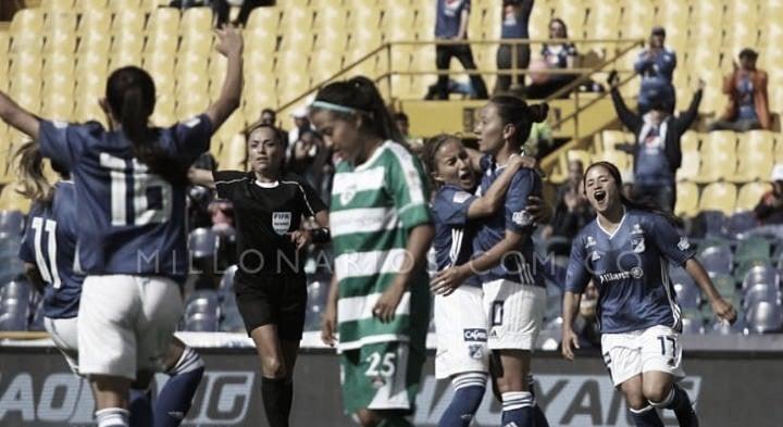 Millonarios debuta con victoria en La Liga Aguila Femenina