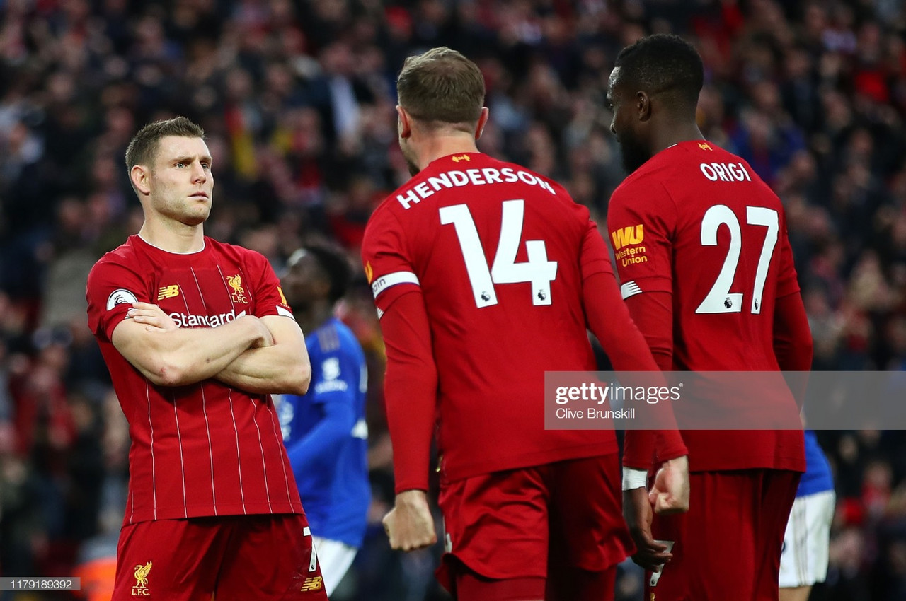 As it happened: Milner nets dramatic late penalty to make it 17 in a row for Liverpool (2-1)