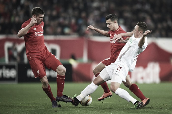 We didn't play well enough to win against Augsburg, admits James Milner